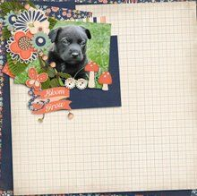 Stack It High 12x12 layout templates