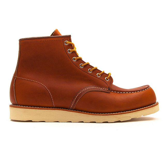 Red Wing - 875 6 Inch Moc Toe Heritage Work Boot – Tan