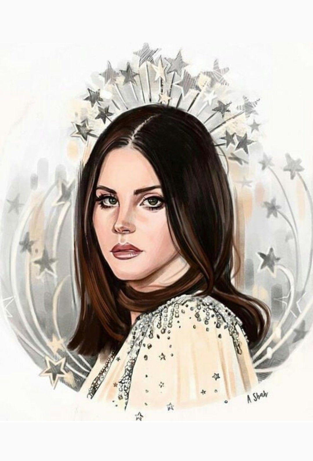 Lana Del Rey Art Lana Del Rey Art Lana Del Rey Lana Del Rey Honeymoon