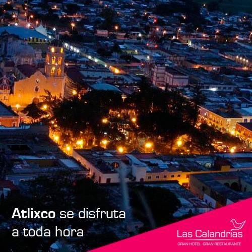 ¡#Atlixco es una belleza a cualquier hora!  Conoce esta hermosa ciudad y quédate con nosotros. http://lascalandrias.com.mx/somos.php #turismo #Puebla #México