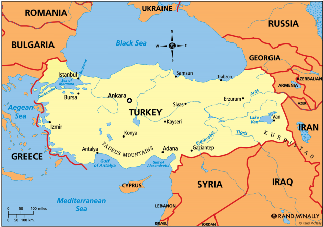 turkey and egypt map Earthquake 5 8 Violently Hits Turkey Egypt And Cyprus Visit