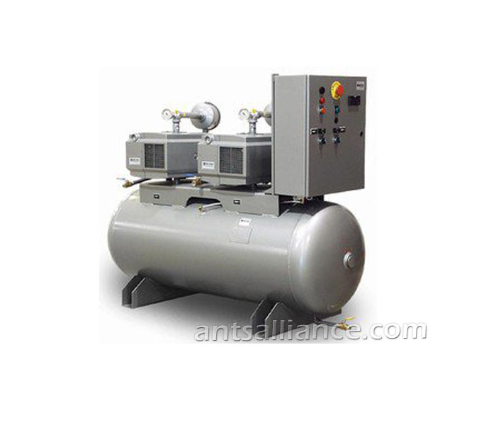 Oilimmersed central vacuum system