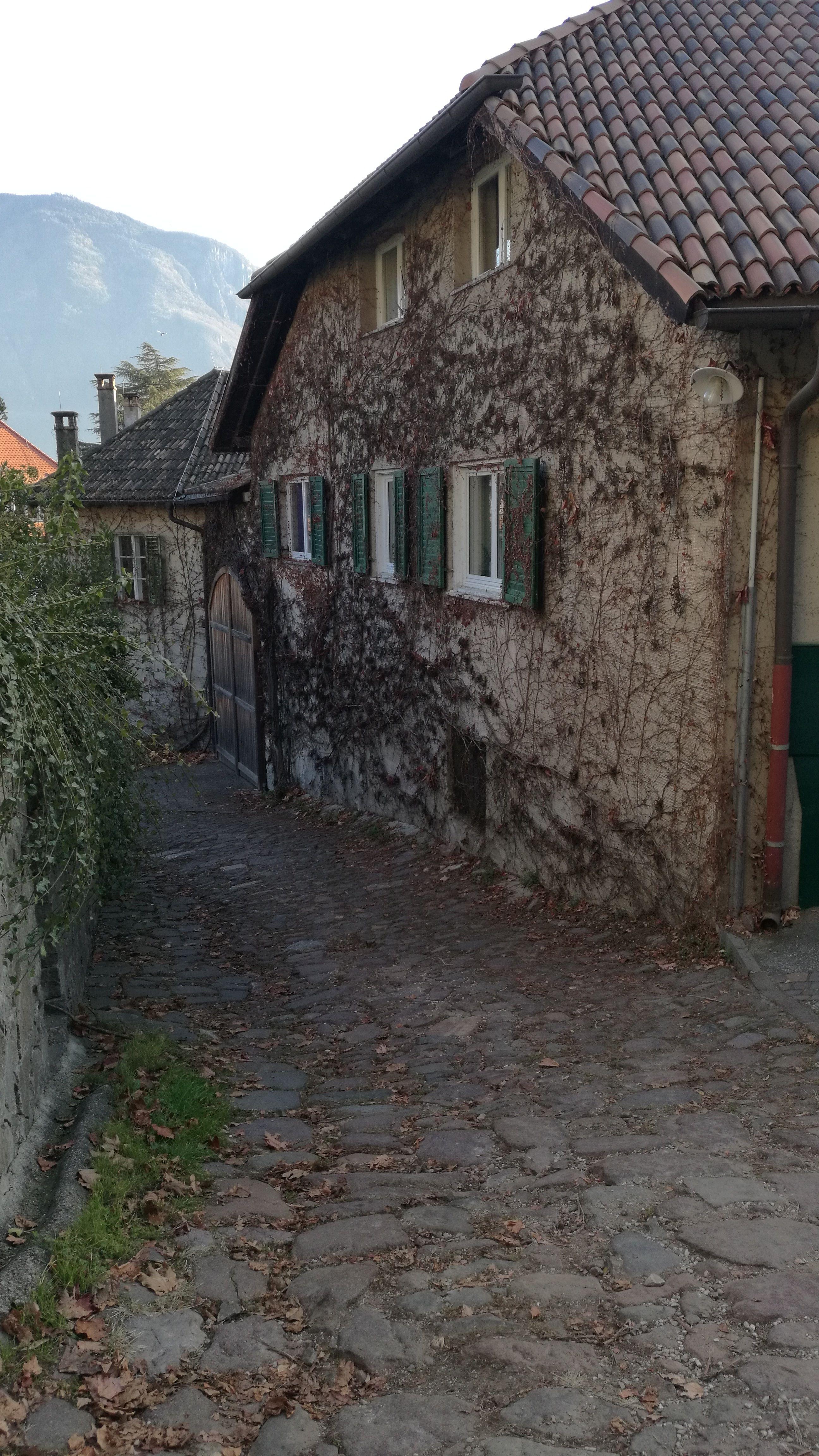 Una de las bonitas calles del pueblo