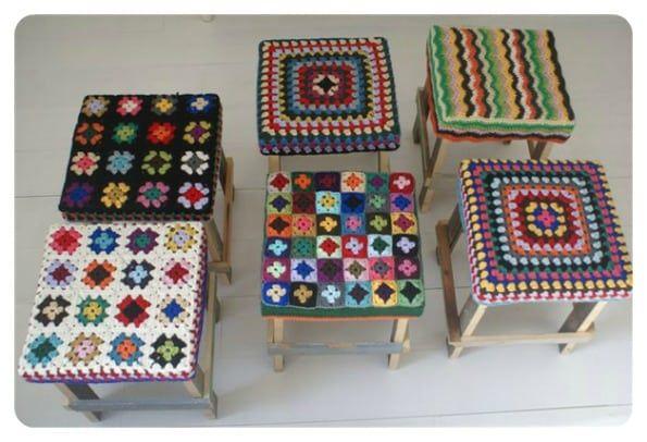 Décorez nos tabourets avec du tricot! – Modèles de tricot   – Amigurumi
