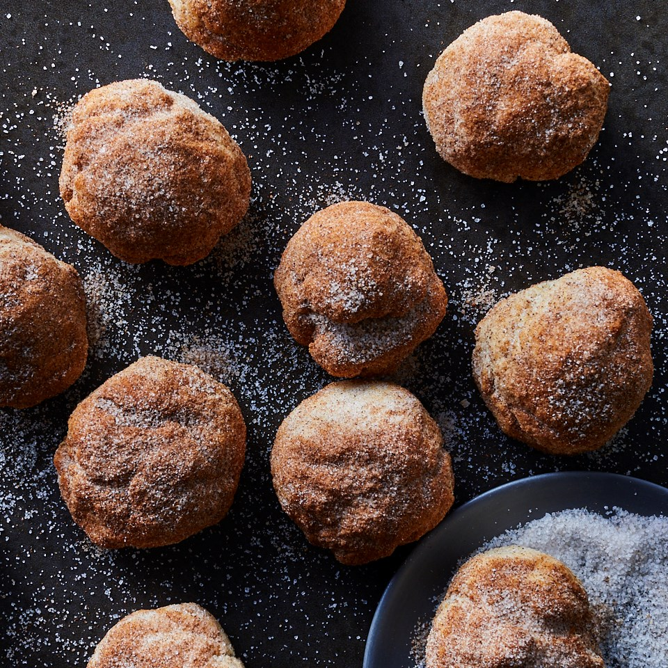 AirFryer CinnamonCake Doughnut Holes Recipe Cinnamon