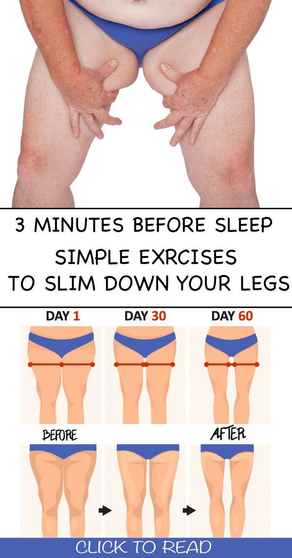3 Minutes Before Sleep Simple Exercises to Slim Down Your Legs A few people only are motivated to exercise on a daily basis Women in turn are often hindered from paying a...