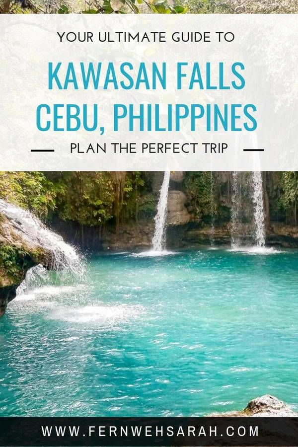 Instaworthy Kawasan Falls – how to make the most of your visit ⋆ Fernwehsarah