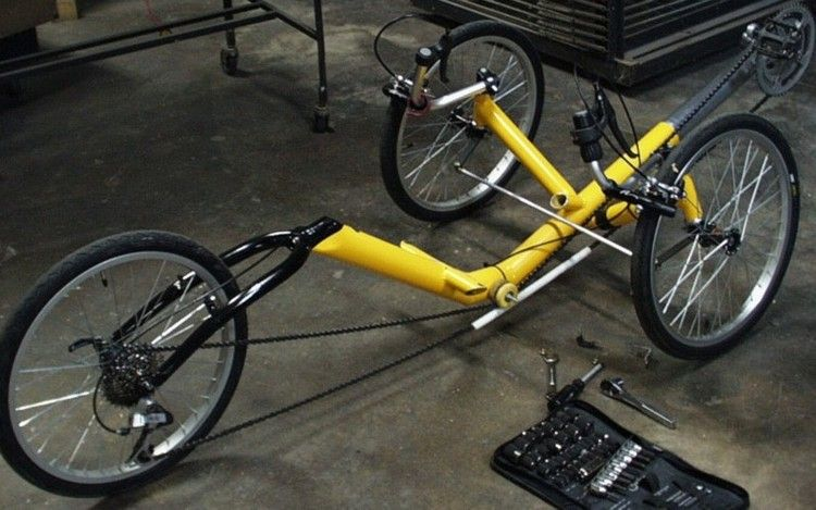 A Trike In 2020 Recumbent Bicycle Trike Stationary Bikes