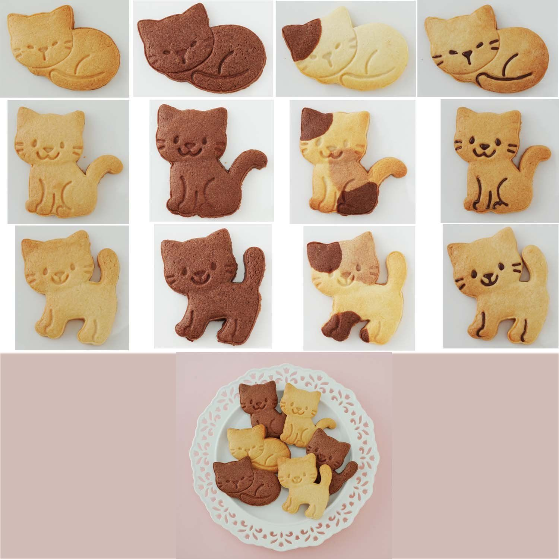 "Cat cookie cutter ""Nyankizu"" A76592. (With images) Cat"