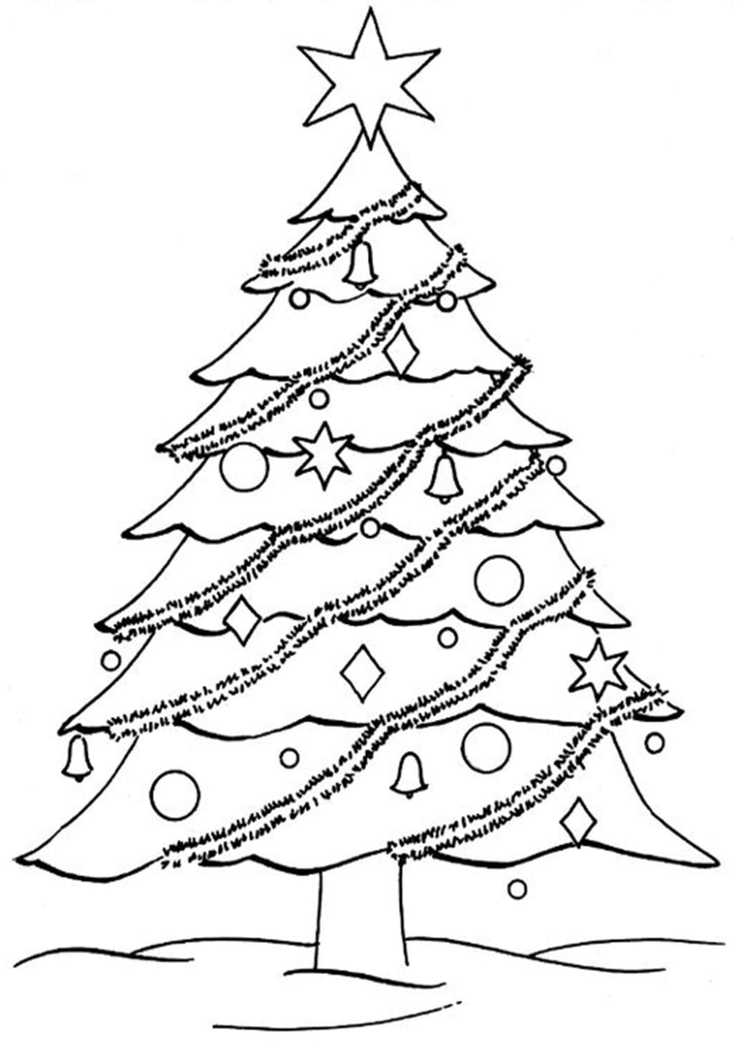 How to Draw a Realistic Christmas tree - Tutorial - YouTube