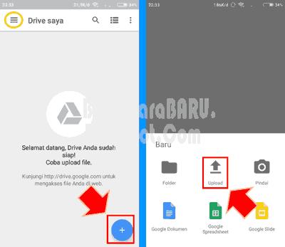 Pin Oleh Membikincarabaru Di Cara Menyimpan File Ke Google Drive Pake Komputer Hp Android Drive Google