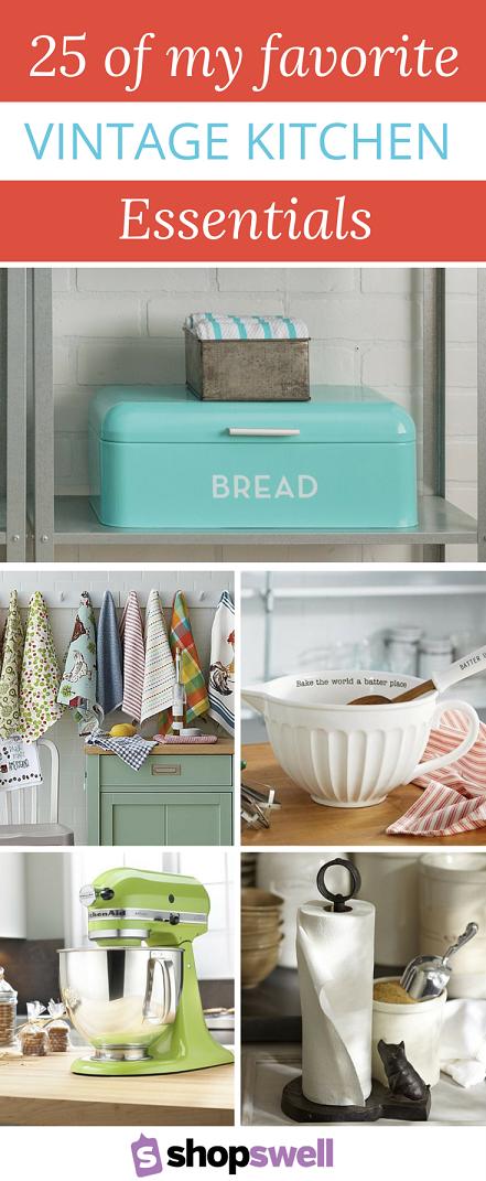 vintage kitchen decor essentials | {decor goals} | cocinas