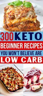 300 Best Ketogenic Recipes For Keto Diet Beginners – #Beginners #diet #keto #Ket…