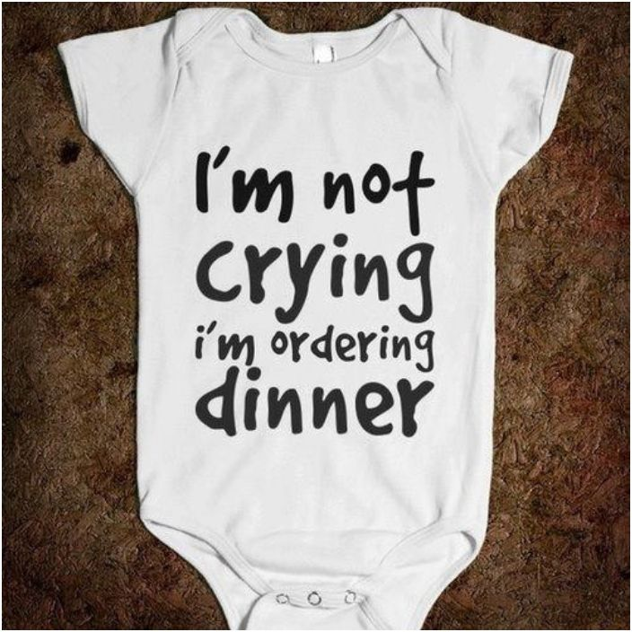 6c8901f13 45 Funny Baby Onesies With Cute And  Clever Sayings