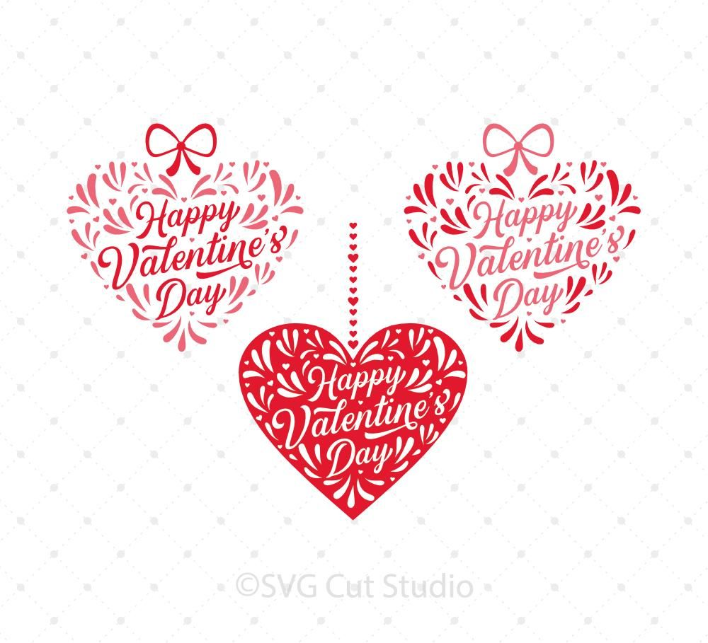 Happy Valentine S Day Svg Cut Files In 2018 Spring Pinterest