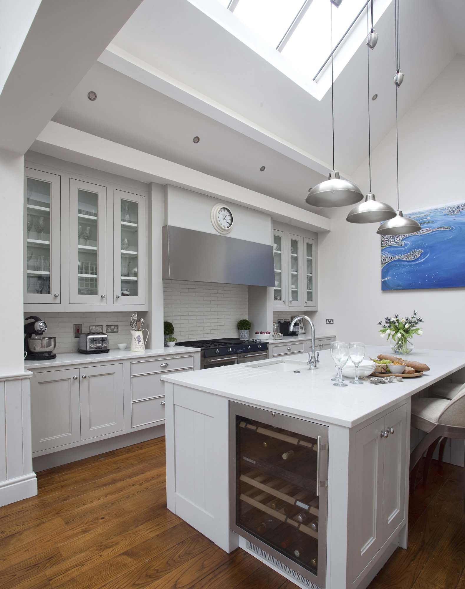 Superior This City Residence Features A New England Kitchen Design, Creating A  Homely Space For The