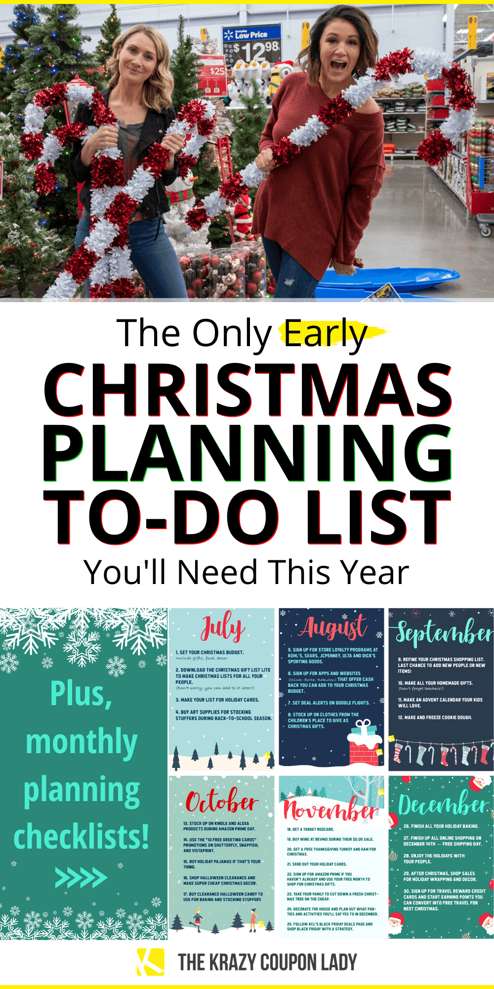 Get Your Early Christmas On With This Christmas To Do List