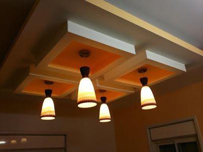 Modern Living Room Gypsum Board Designs