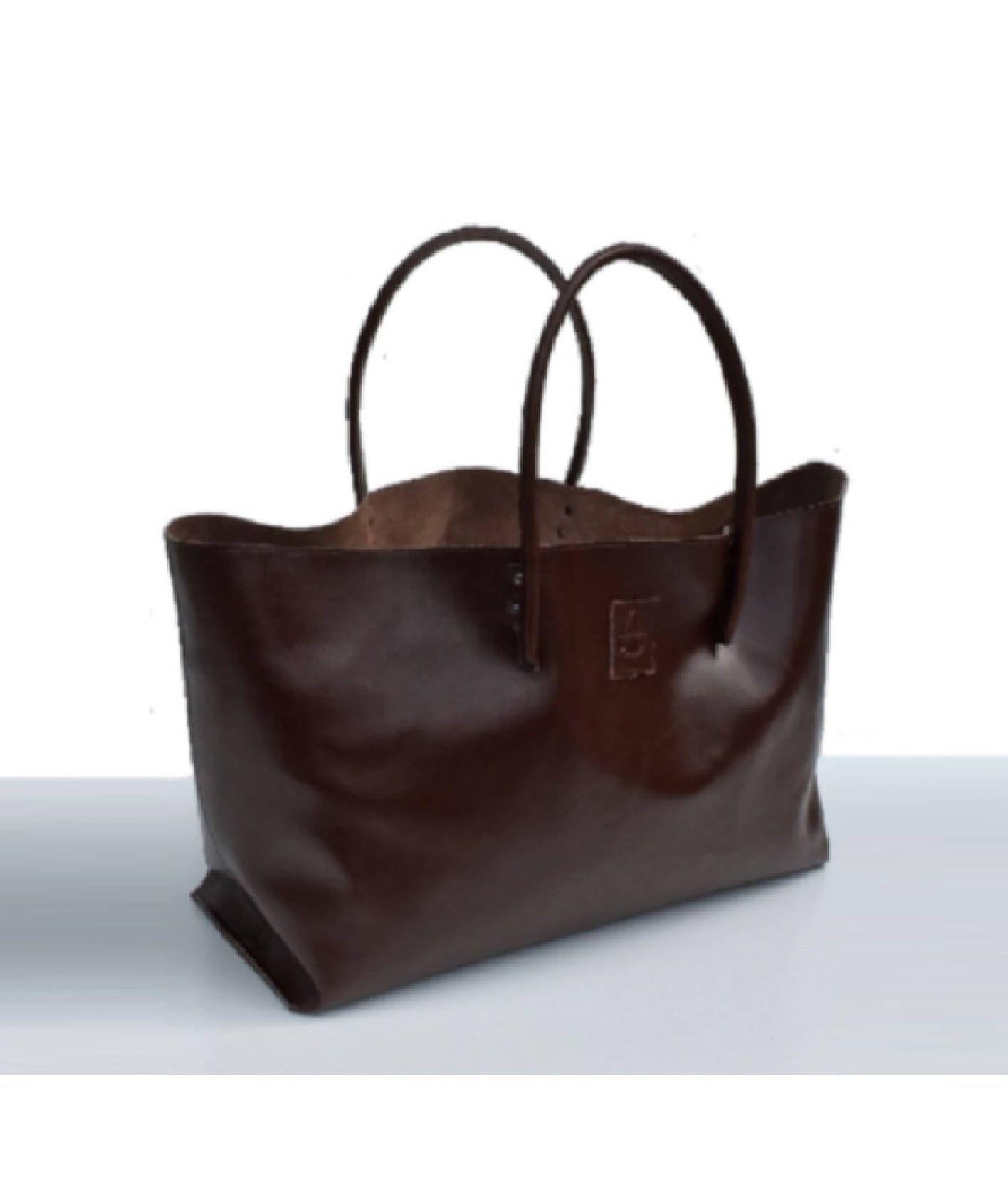d5d812bfe97a3 XXL Shopper Ledershopper große Ledertasche Einkaufstasche für Großeinkauf  braun handmade von Goldtaschen auf Etsy