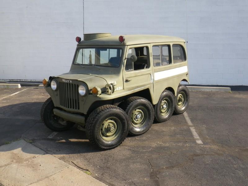 Jeep Willys Con 8 Ruedas Y Motor De Corvette Jeep Willys Jeep
