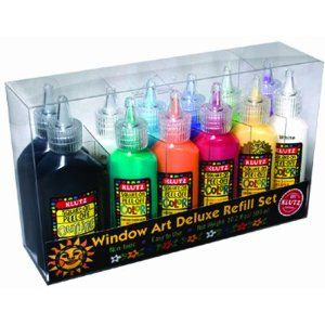 Window art deluxe refill set for do it yourself gel clings you can window art deluxe refill set for do it yourself gel clings you can put solutioingenieria Images