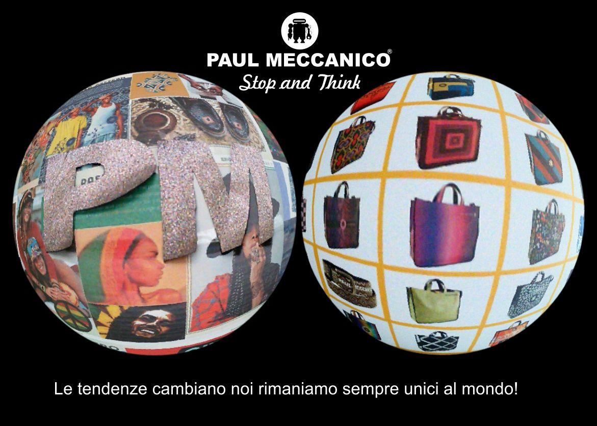 Cambiano le mode, cambiano le tendenze. Noi rimaniamo fedeli a noi stessi. UNICI AL MONDO! Trends change. Not us.  Discover our bags, belts and bracelets on www.paulmeccanico.com