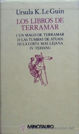 Los Libros De Terramar De Ursula K Le Guin 4 Vol Libros Lectura Libros Libros Recomendados Para Leer