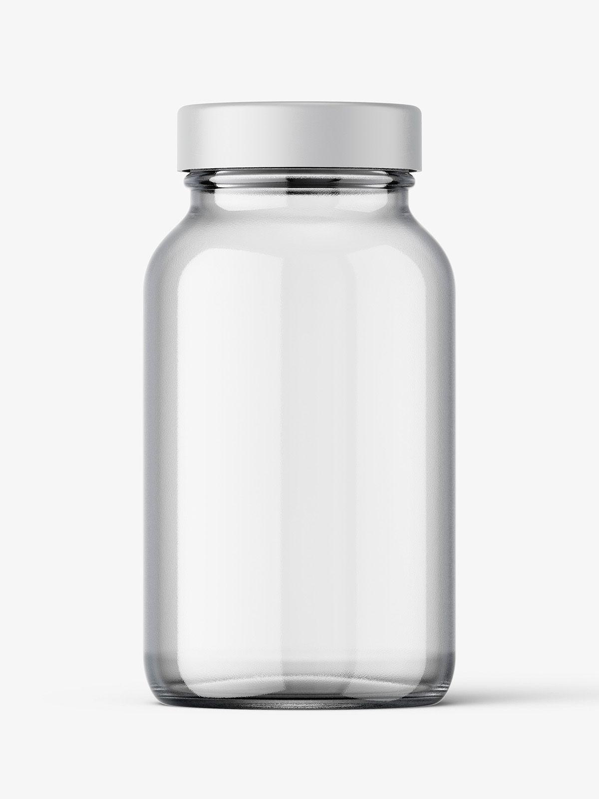 Clear Jar Mockup Smarty Mockups Clear Jars Jar Jar Glasses