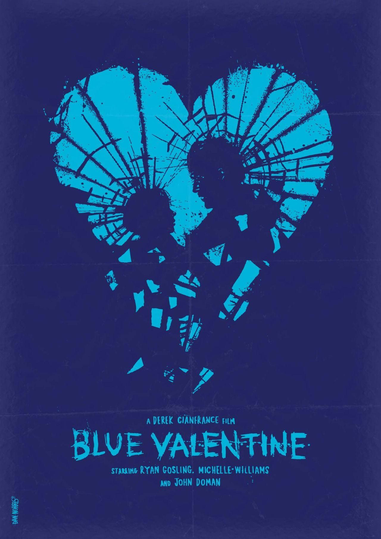 Poster design tumblr - Blue Valentine