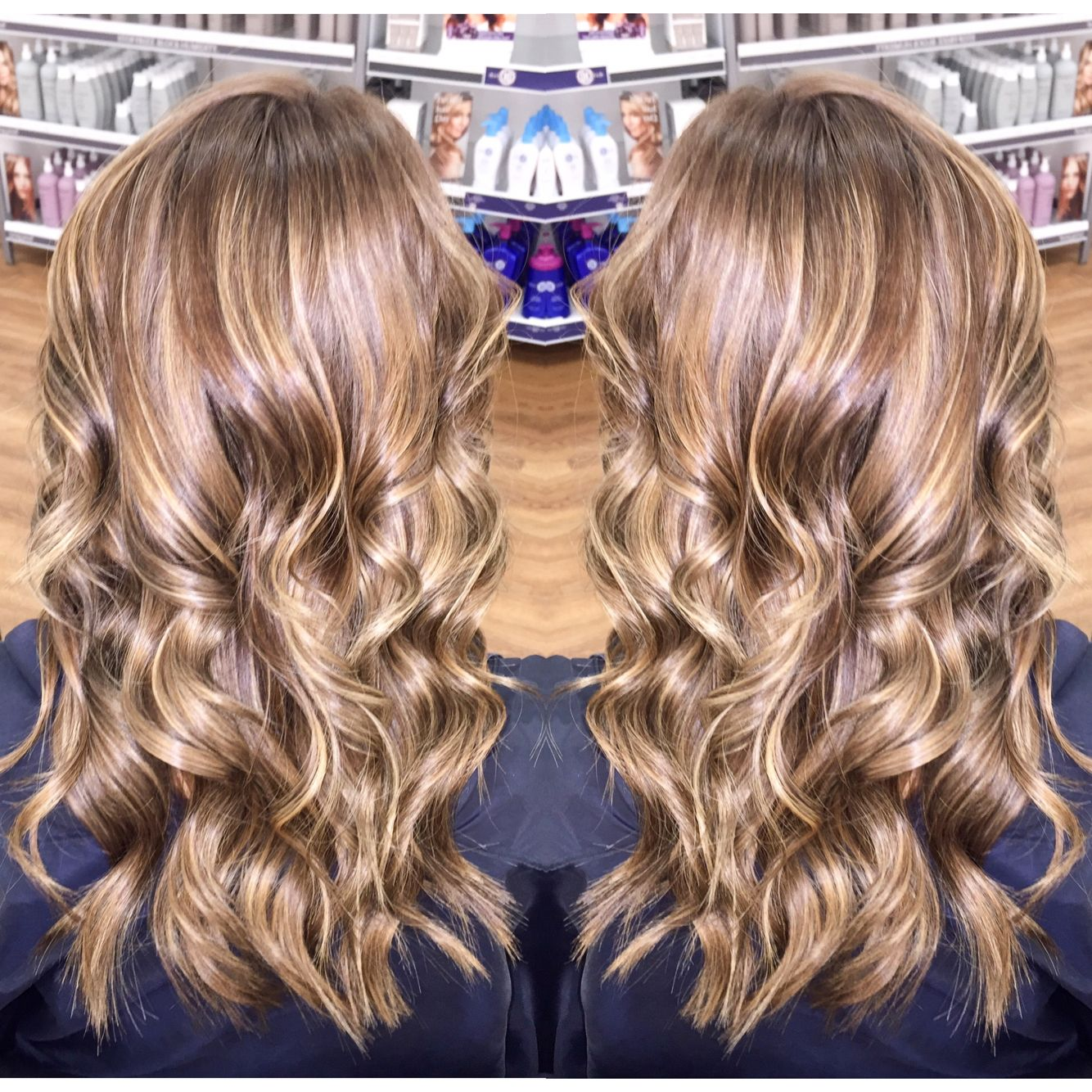 Ash Blonde Level 7 Blonde Baby Lights Highlights Lowlights By Me