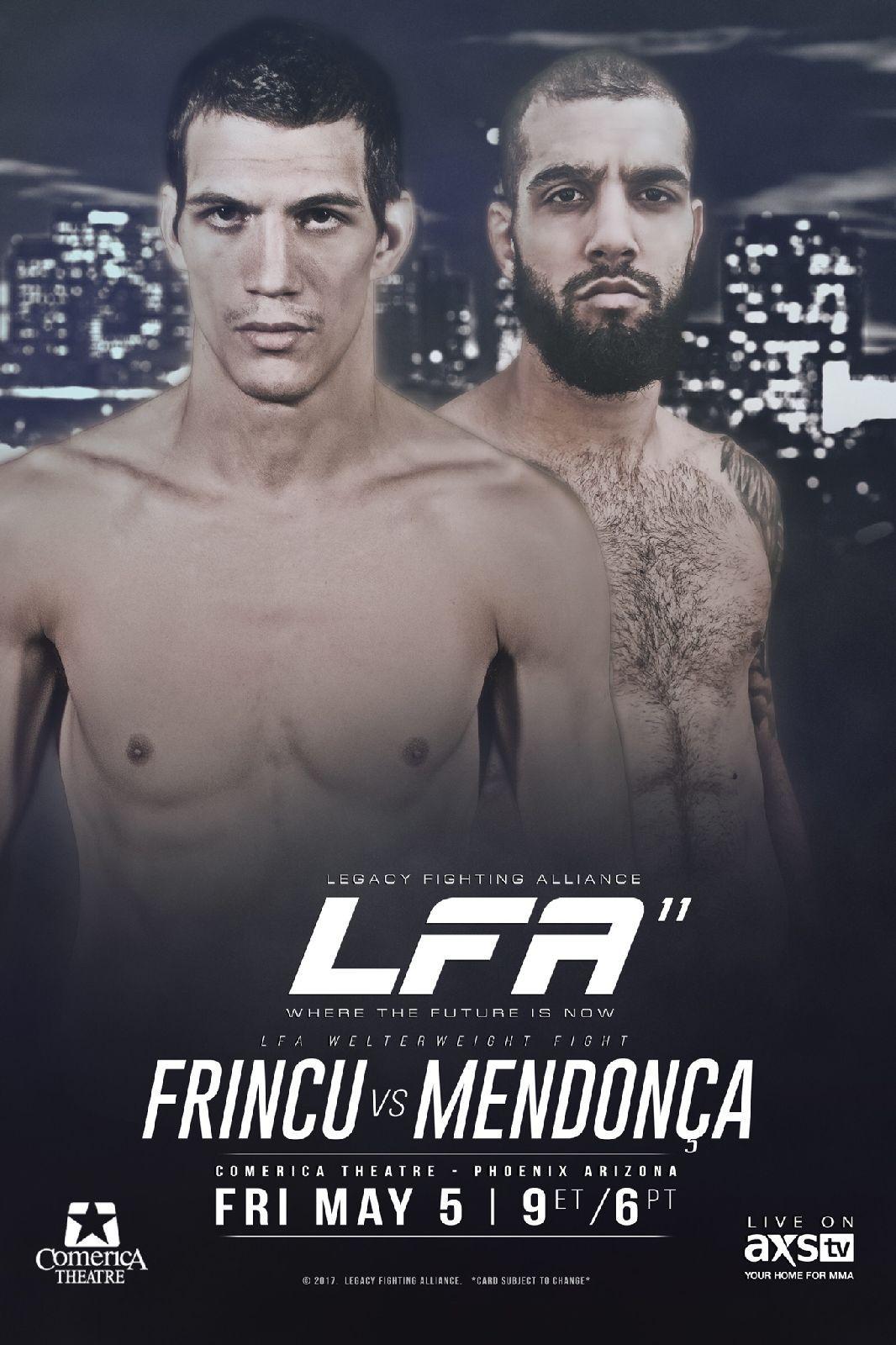 LFA 11 Phoenix Arizona Legacy Fighting Alliance MMA Fight