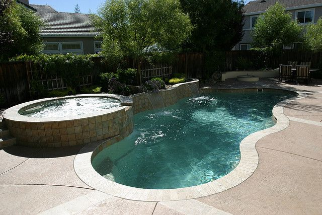 Natural / Freeform Pool #054 by Southernwind Pools ... |Small Freeform Pools With Waterfalls