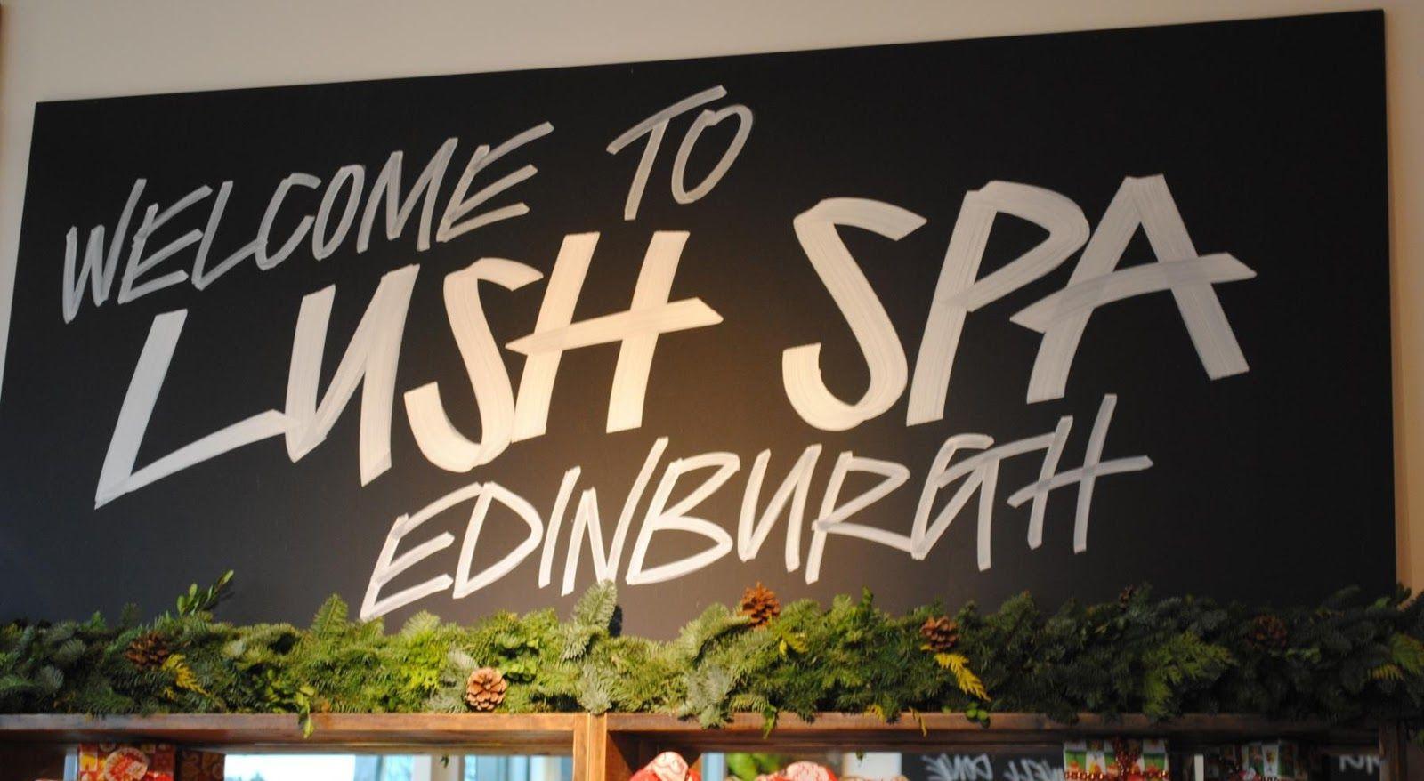 Lush Signage Signage Inspiration Calm Artwork
