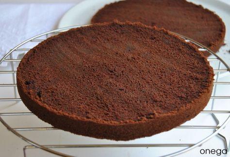 KITCHENAID. Bizcocho de chocolate para tartas de cumpleaños (CON BUTTERMILK)