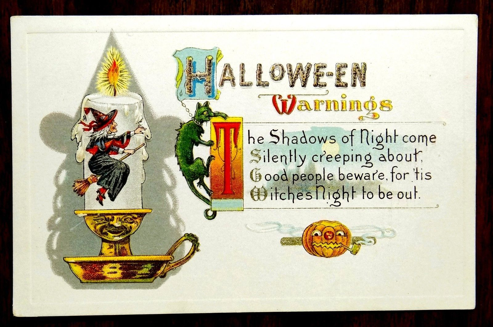 Halloween Warnings