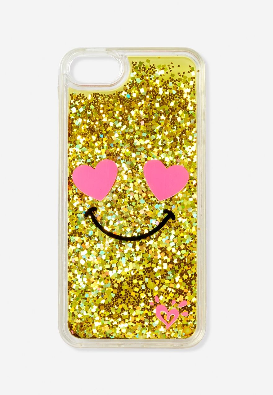 Heart Eyes Glitter Emoji Case For Ipod Touch Cute Ipod Cases Emoji Phone Cases Ipod Touch Cases