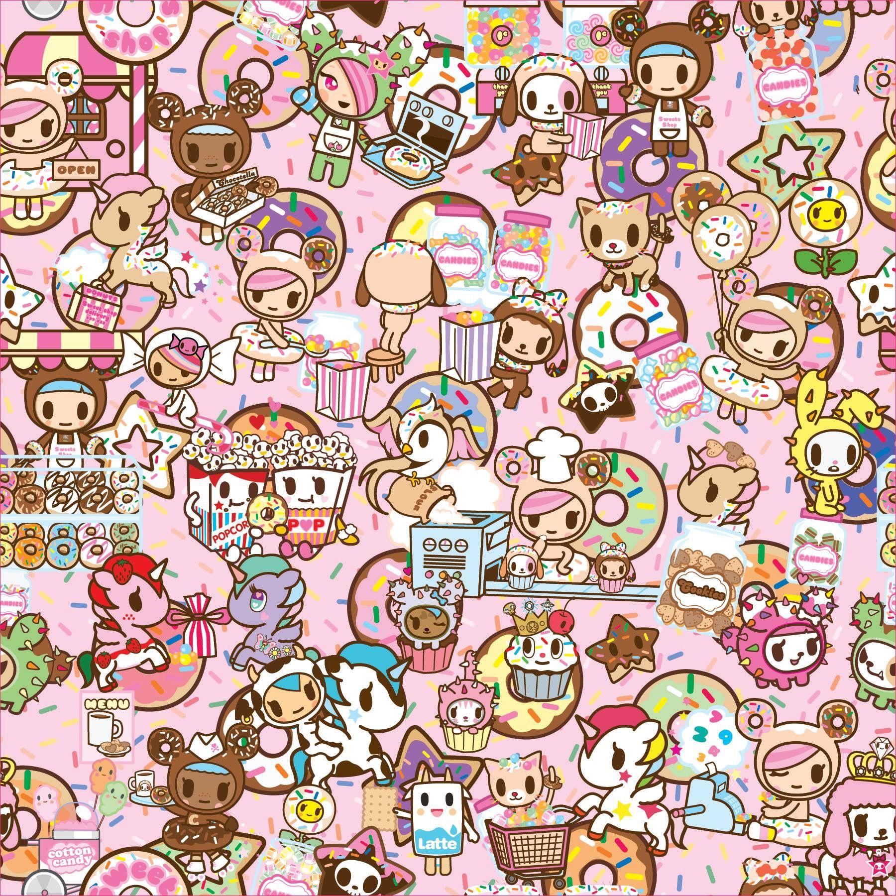 Tokidoki Background