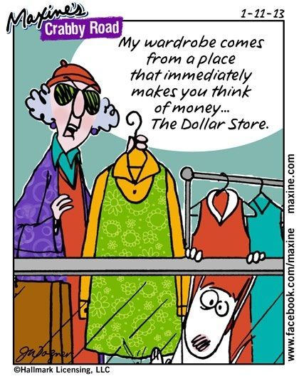 Maxine's clothing store