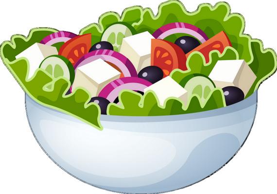 Salade Composée Dessin Scrapbooking Cuisine Salade