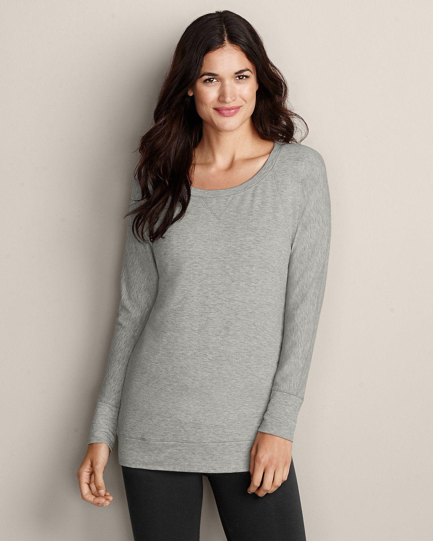 Women's Après Lux Sweatshirt | Eddie Bauer
