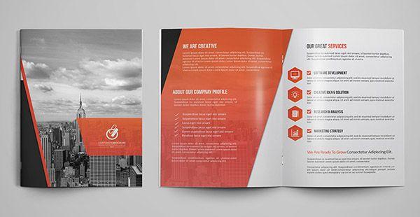Good Collaterals Developed For Adidas Brochure Design 3 Design   Sample