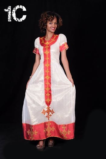 Ethiopian Traditional Fashion Dress