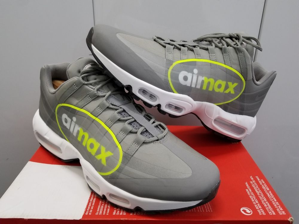 finest selection be0bf 1540d Nike Air Max 95 NS GPX SP Big Logo - Dust Volt-Dark Pewter-White - Size 11.5   fashion  clothing  shoes  accessories  mensshoes  athleticshoes (ebay link)