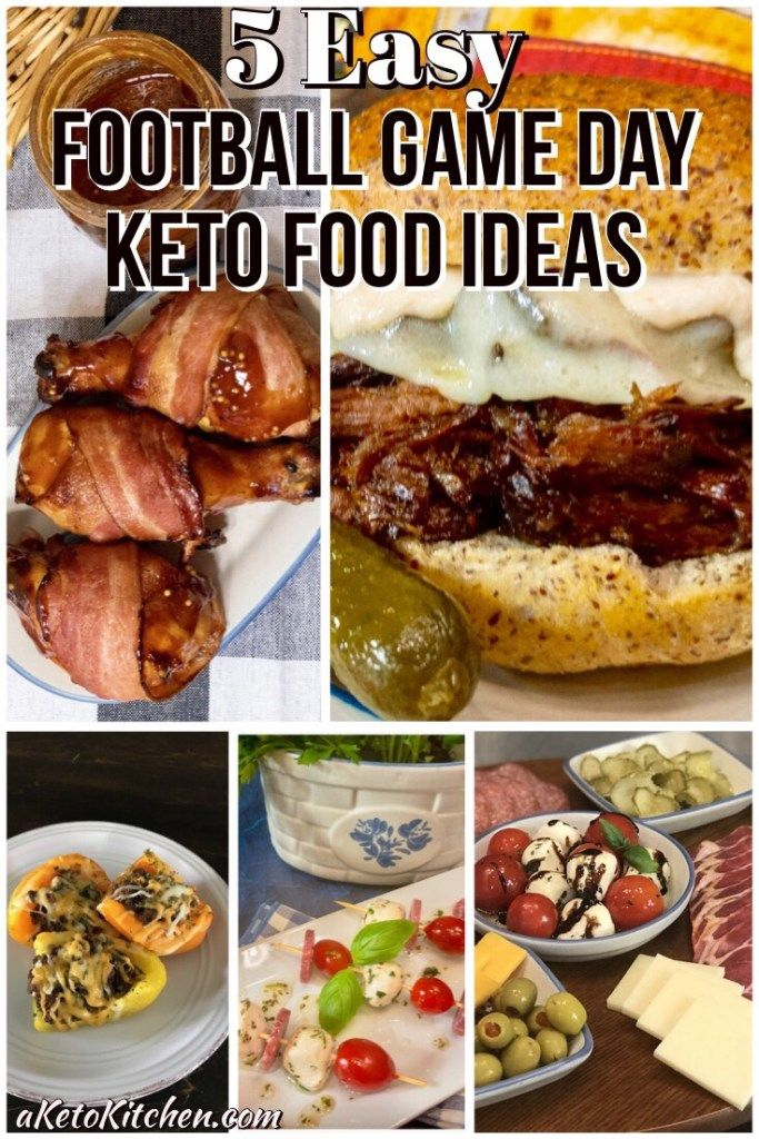 Here are 5 Easy Football Game Day Keto food ideas to help