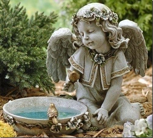 Gentil Angel Garden Statues Angel Statues For Gardens Angels Statue Garden .