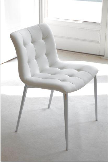 Sedia kuga sedie ecopelle pelle sedute sedie for Sedie in ecopelle