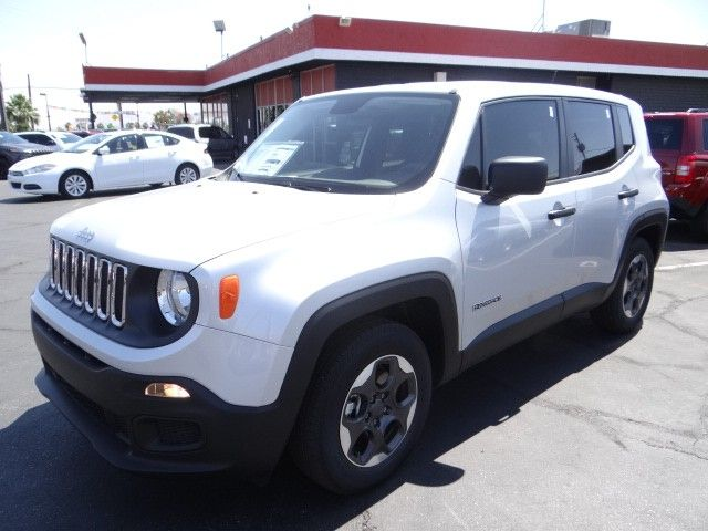 2015 Jeep Renegade In Glacier White At Chapman Dodge Las Vegas