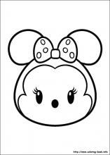 Tsum Tsum coloring pages on Coloring-Book.info | Tsum Tsum party ...