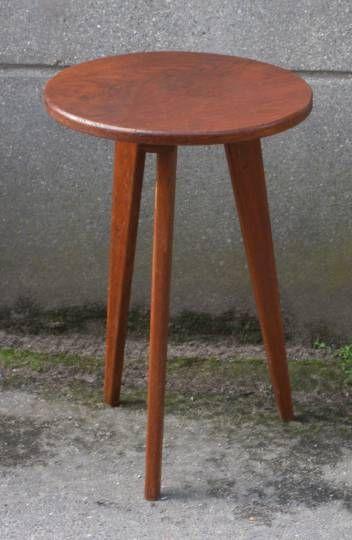 guridon table basse scandinave tripode annes 50 jolie table tripode guridon