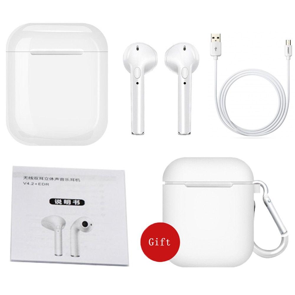 Ifans מיני I9s תאומים אוזניות מיני אלחוטי Bluetooth אוזניות I7s Tws אוויר אוזניות תרמילי סטריאו אוזניות עבור Iphone אנדרוא Earbuds Stereo Headphones Headphones
